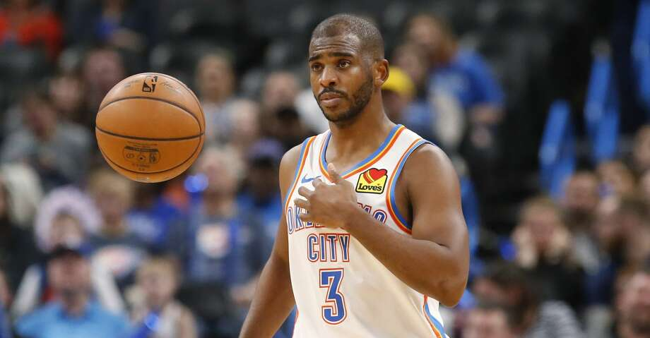 PHOTOS: Rockets game-by-game Oklahoma City Thunder guard Chris Paul (3) in the second half of an NBA basketball game against the Indiana Pacers Wednesday, Dec. 4, 2019, in Oklahoma City. (AP Photo/Sue Ogrocki) Browse through the photos to see how the Rockets have fared in each game this season. Photo: Sue Ogrocki/Associated Press