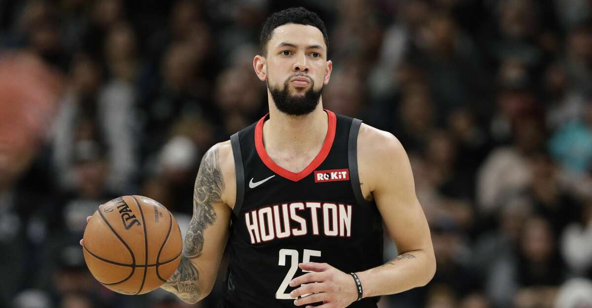 PHOTOS: Rockets game-by-game Houston Rockets guard Austin Rivers (25) during the first half of an NBA basketball game against the San Antonio Spurs, in San Antonio, Tuesday, Dec. 3, 2019. (AP Photo/Eric Gay) Browse through the photos to see how the Rockets have fared in each game this season.