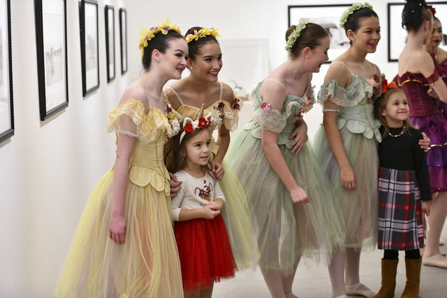 Scenes from mother daughter brunch event with Nutcracker performance and Gingerbread House Workshop on Saturday, Dec. 7, 2019 at Museum of the Southwest. Jacy Lewis/Reporter-Telegram Photo: Jacy Lewis/Reporter-Telegram