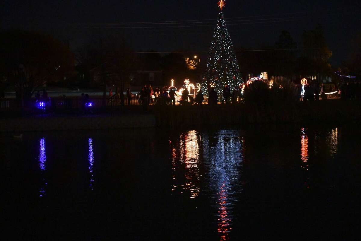 Scenes from the Christmas Tree lighting event Saturday, Dec. 7, 2019 at Wadley-Barron Park. Jacy Lewis/Reporter-Telegram