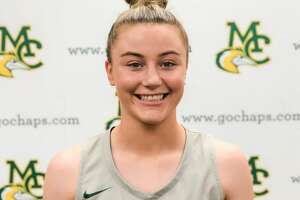 Midland College women's basketball player Grace Beasley