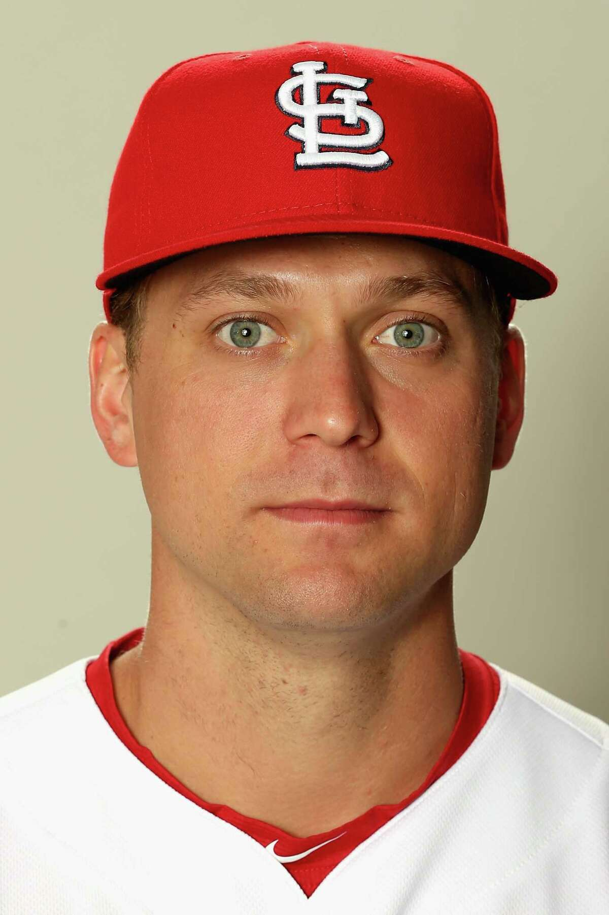 JUPITER, FL - FEBRUARY 20: Trevor Rosenthal #44 poses for a portrait during St Louis Cardinals Photo Day at Roger Dean Stadium on February 20, 2017 in Jupiter, Florida. (Photo by Matthew Stockman/Getty Images) ORG XMIT: 694907509