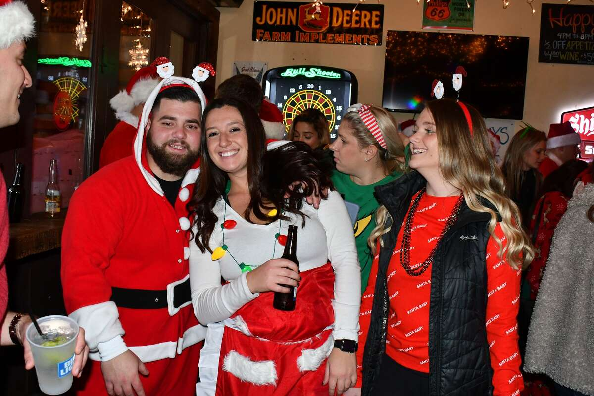 Santas swarmed the streets of Stamford during the annual SantaCon bar crawl on December 7, 2019. Revelers dressed in holiday garb took advantage of drink specials at participating bars. Were you SEEN?
