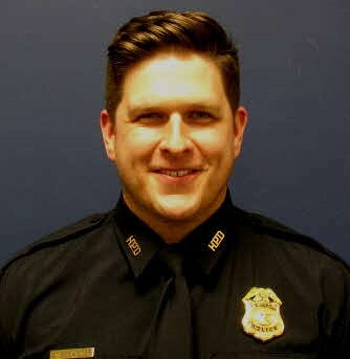 Sergeant Christopher Brewster, 32. Brewster was shot and killed during a domestic disturbance near Magnolia Park in east Houston Saturday, Dec. 7, 2019.