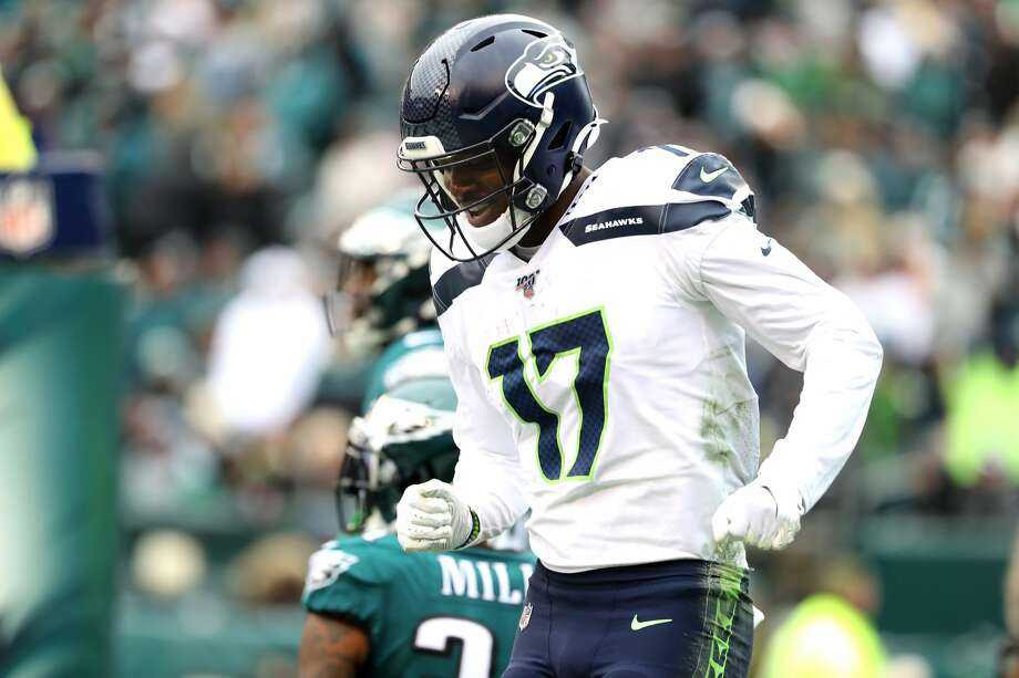 Second-year wide receiver Malik Turner is one of the more underrated contributors for the Seahawks this season. Photo: Elsa/Getty Images / 2019 Getty Images