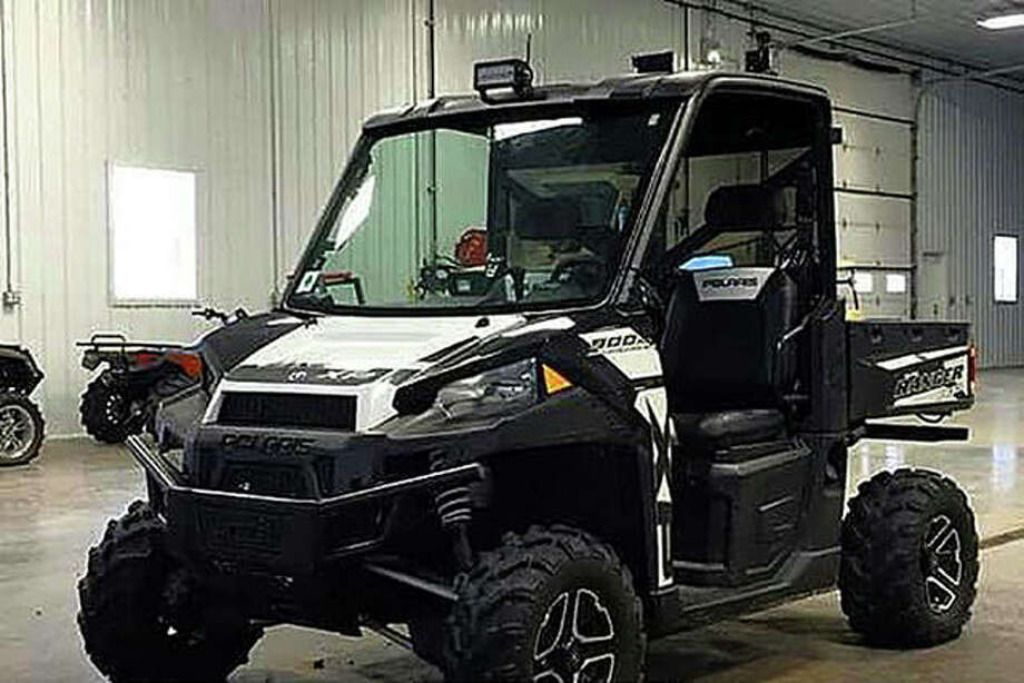 Among the items stolen from a shed in rural Chapin was a 2015 Polaris Ranger UTV.