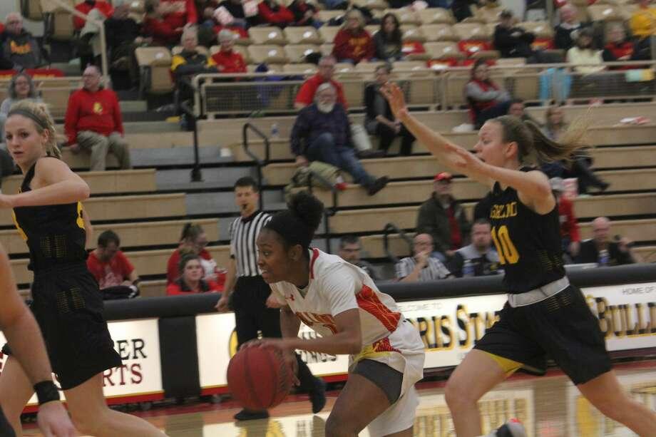 Ferris women's basketball team falls to Ashland. Photo: John Raffel