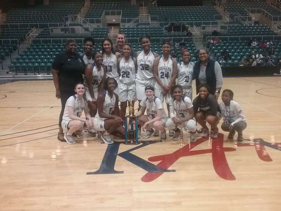 The Cypress Creek girls basketball team repeated as Katy Classic champions with an 89-52 victory against Oak Ridge, Dec. 7 at the Merrell Center in Katy. Photo: Katy ISD Athletics / Katy ISD Athletics