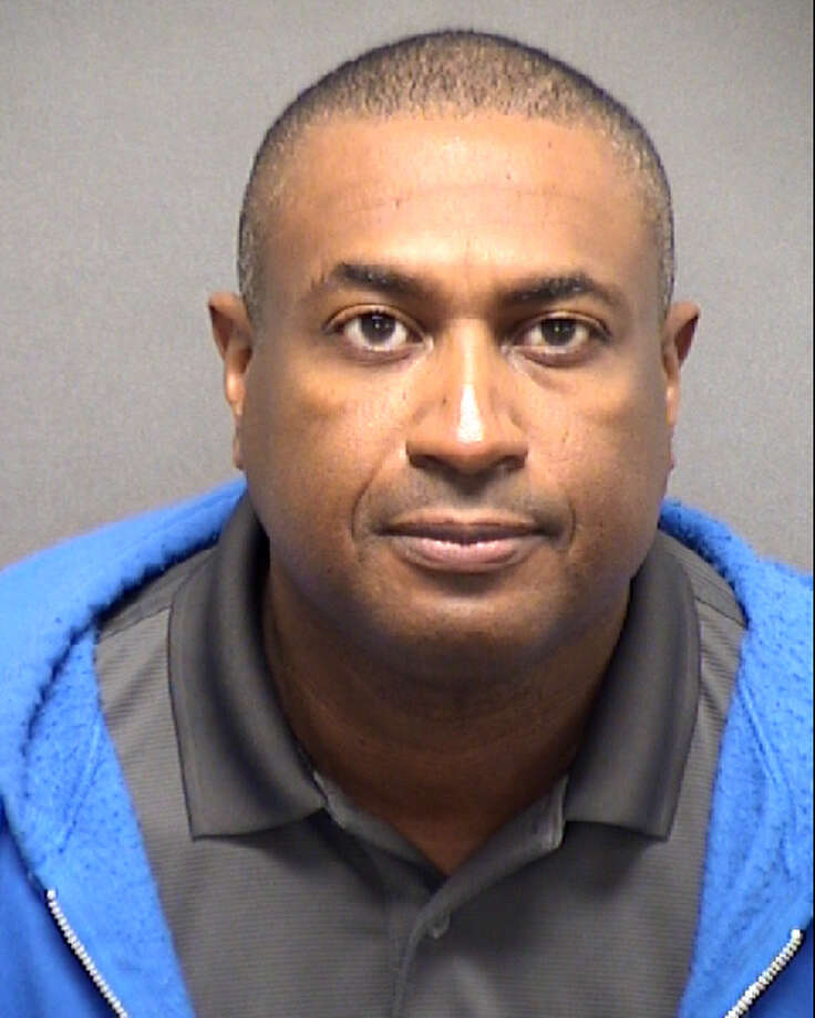 Sheriff's deputy Floyd Berry was arrested and booked on three counts of official oppression on Saturday, Dec. 7, 2019. Photo: Courtesy Bexar County Sheriff's Office