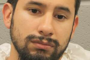 This is the booking photo of suspect Arturo Solis, 25 now charged with the capital murder of HPD Sergeant Christopher Brewster.