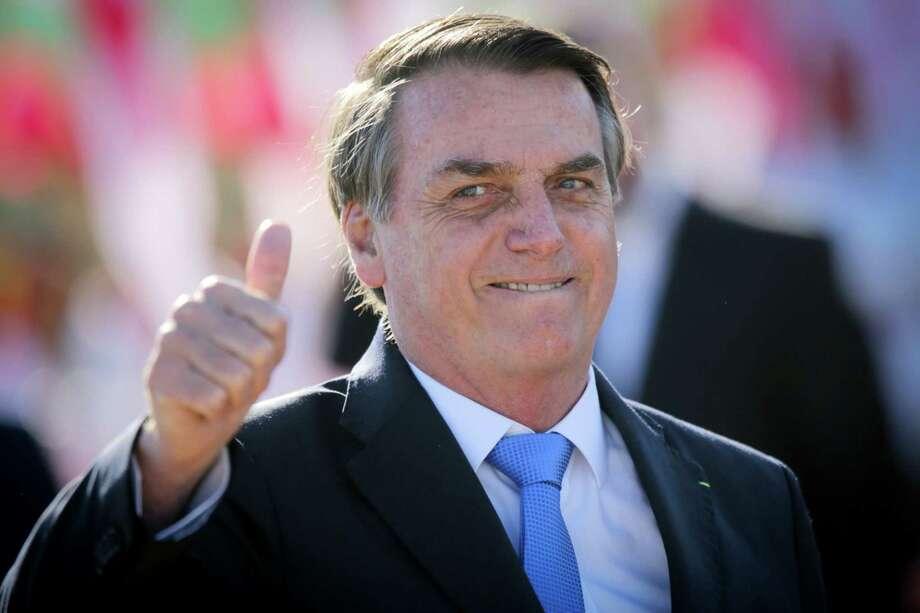 Brazilian President Jair Bolsonaro. Photo: Andre Coelho / © 2019 Bloomberg Finance LP