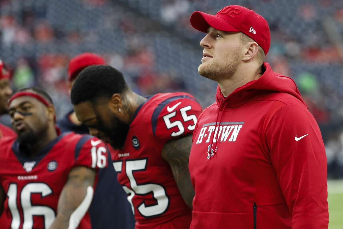 J.J. Watt is not your friend J.J. Watt is many things, but he is not [leaning into microphone]notyour friend. The Texans defensive end tweeted out his