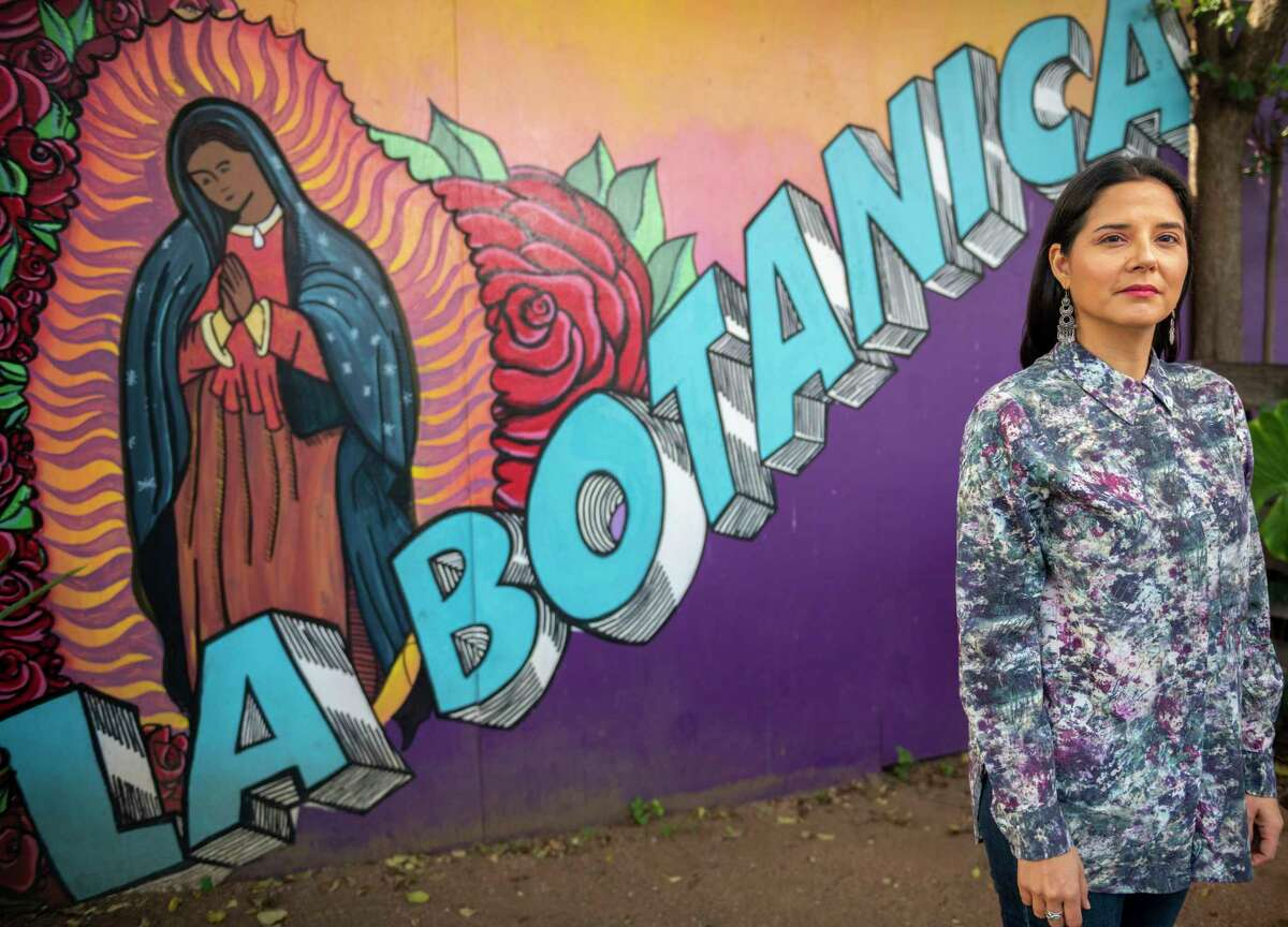 Rebel Mariposa owns La Botanica, the popular vegan bar and restaurant on St. Mary's Strip, as well as the Alluring Alchemist, a natural skincare product company, and she's long been an active figure in the San Antonio arts and activism scene.