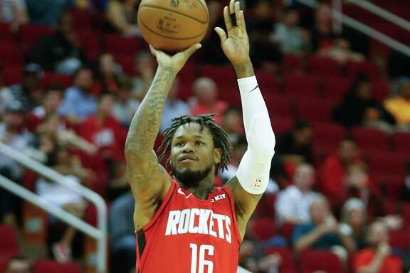 In his last two games, Rockets guard Ben McLemore has scored 27 points against the Suns and 28 against the defending champion Raptors.