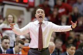 Indiana coach Archie Miller shouts during the second half of his team's game against Florida State.