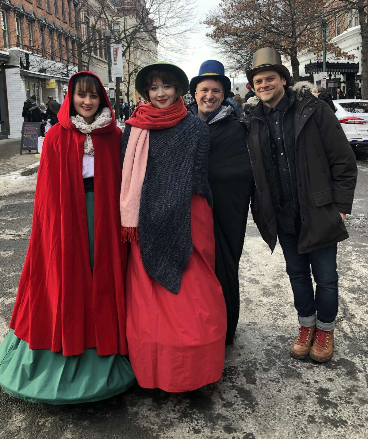 Were you Seen at the 37th Annual Troy Victorian Stroll in downtown Troy on Dec. 8, 2019?