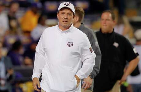 """Aggies coach Jimbo Fisher said nutrition and training have helped change college linemen's physiques so they're no longer """"sloppier-bodied."""""""