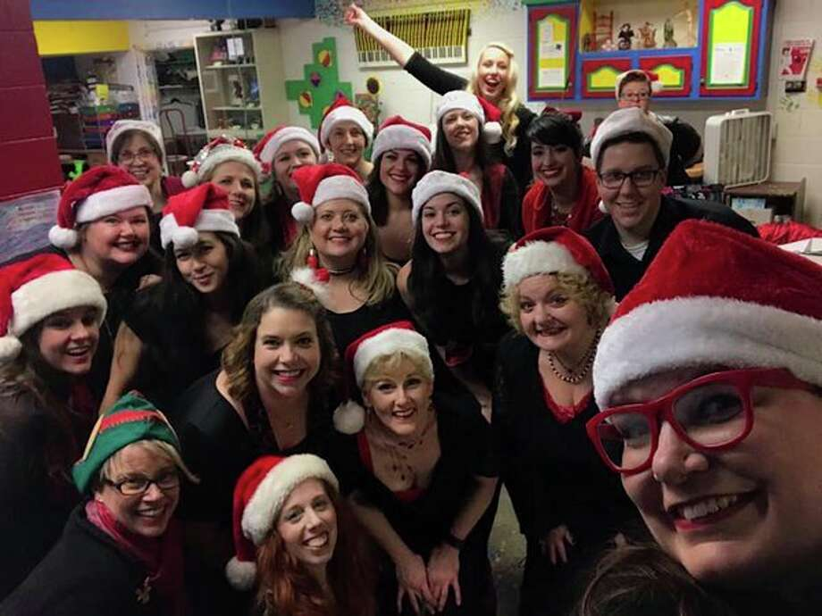 Monday, Dec. 9: A Momsemble Christmas, a hilarious cabaret where nights aren't so silent, is set for Creative 360, 1517 Bayliss St., Midland. Admission. (Photo provided/Creative 360)