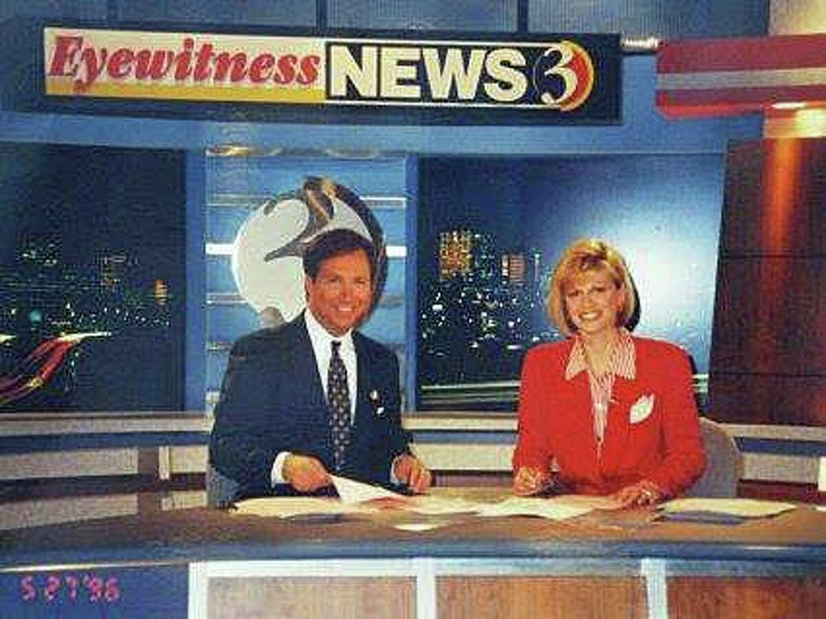 Denise D'Ascenzo co-anchored newscasts with Dennis House for a quarter century.