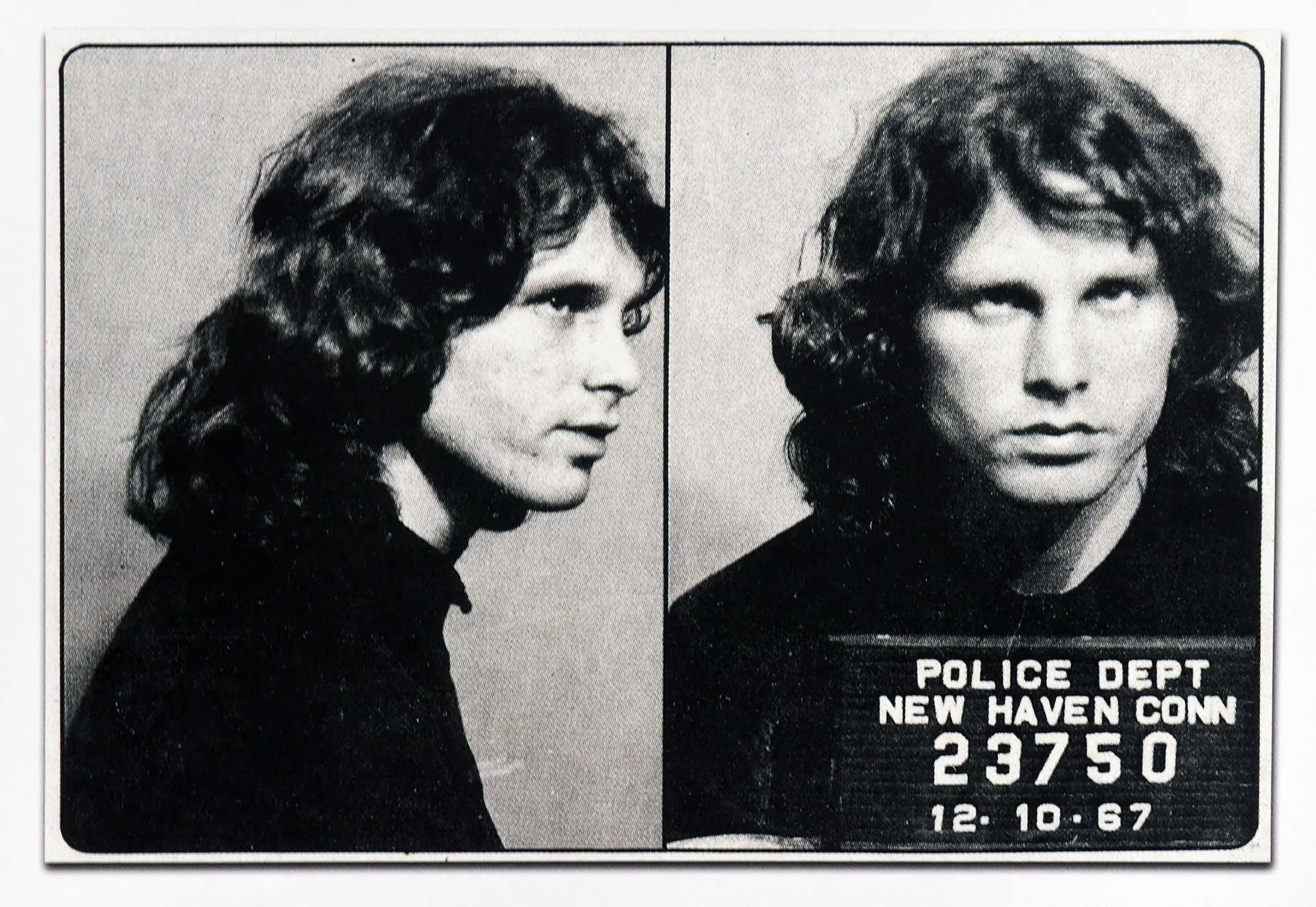 Rocker Jim Morrison arrested this day in New Haven