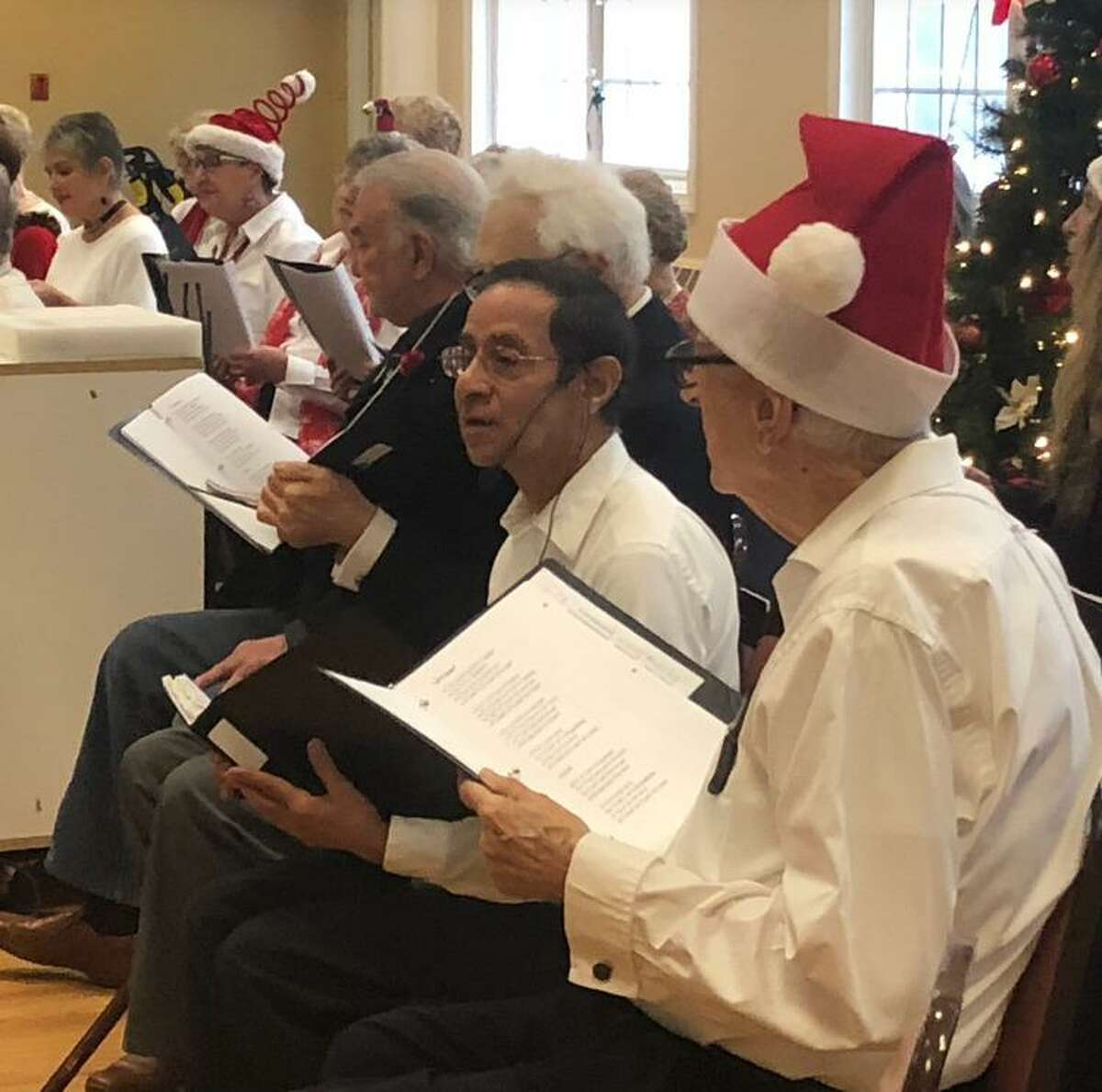 The Shelton Songsters performed their annual Happy Holidays performance.