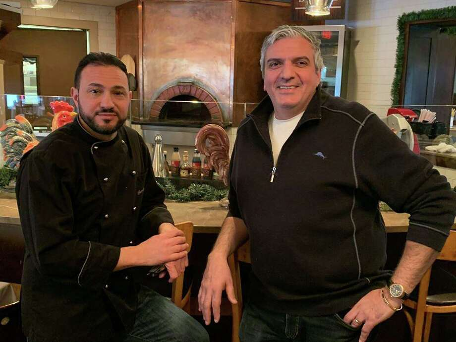 Ridgefield restaurant owner Raffaele Gallo, right, and his business partner Giuseppe Castellano, left, will be opening a new place on Main Street in 2020. Photo: Contributed Photo / Facebook