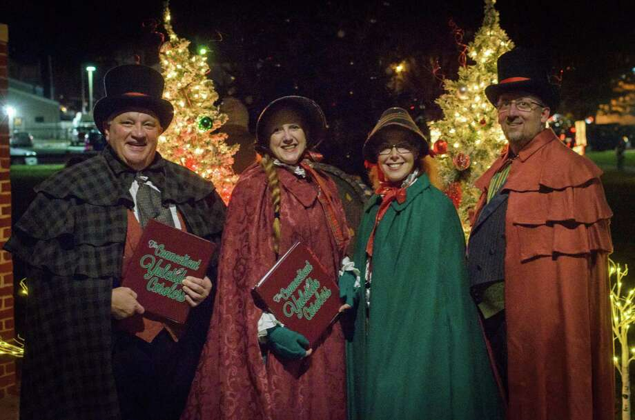 It was a night of songs and celebration as Celebrate Shelton hosted its annual tree lighting in downtown Shelton. Photo: Chris Sidoruk Photography / Contributed Photo / Chris Sidoruk 2019