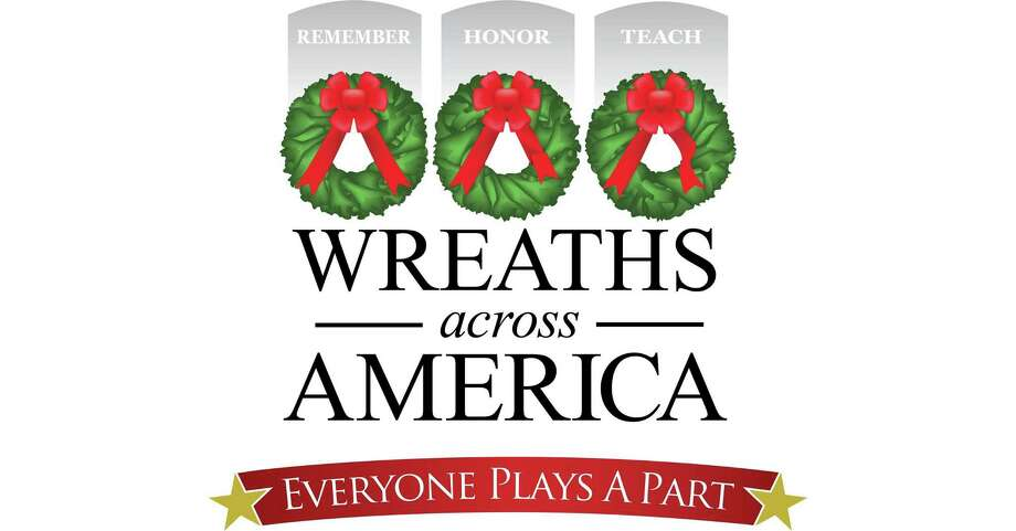 National Wreaths Across America Day is Saturday, Dec. 14. Photo: Contributed Photo / Wreaths Across America
