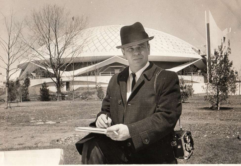 Bob Keating covers the World's Fair in New York City in 1964.
