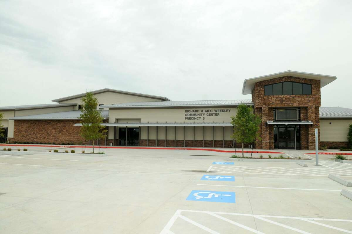 The Richard Weekely Center on Greenhouse Road is the 7th community center and park to open in Precinct 3.