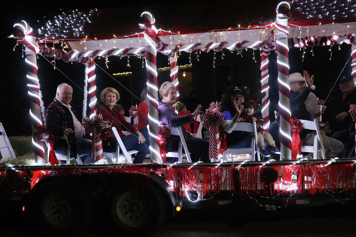 The Spirit of Christmas parade in Dayton brought smiles and joy to residents who lined the streets to see the beautiful floats and decorated vehicles. Once the parade ended, city officials lit the Christmas tree and there were games, refreshments and a very popular snow field at the community center.