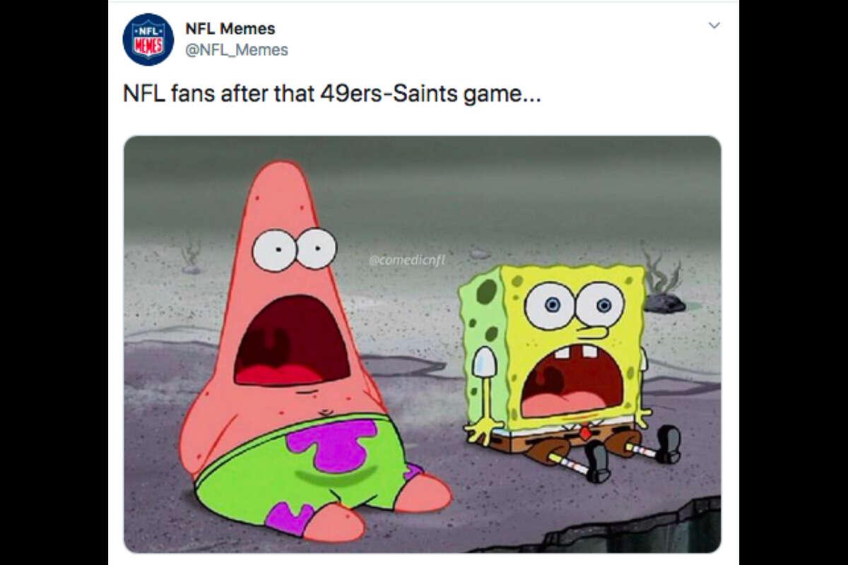 49ers Fans Celebrate Wild Win Over Saints In Memes