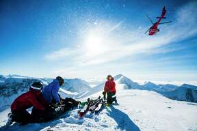 Heli skiing and ski touring are popular activities at Niehku Mountain Villa in Lapland.