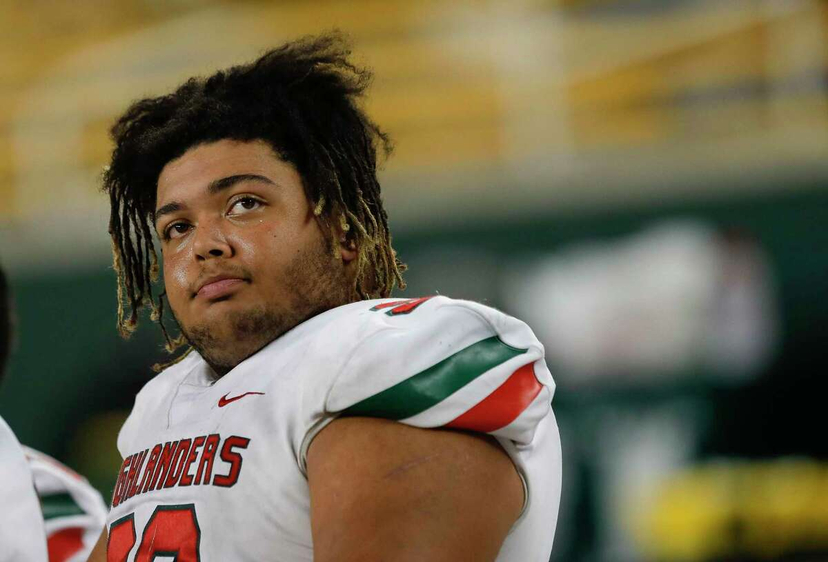 The Woodlands defensive linemen Caleb Fox was selected as the District 15-6A Defensive Player of the Year.