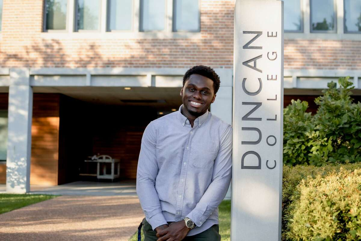 Cordy McJunkinsentered the foster care system and moved between Arkansas and Texas as a child. He now attends Rice University after receiving mentorship through CollegePoint.
