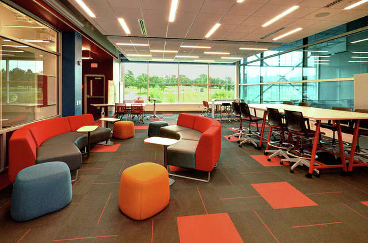 FILE - The Southern Illinois University Edwardsville School of Engineering's new space in The Fowler Student Design Center.