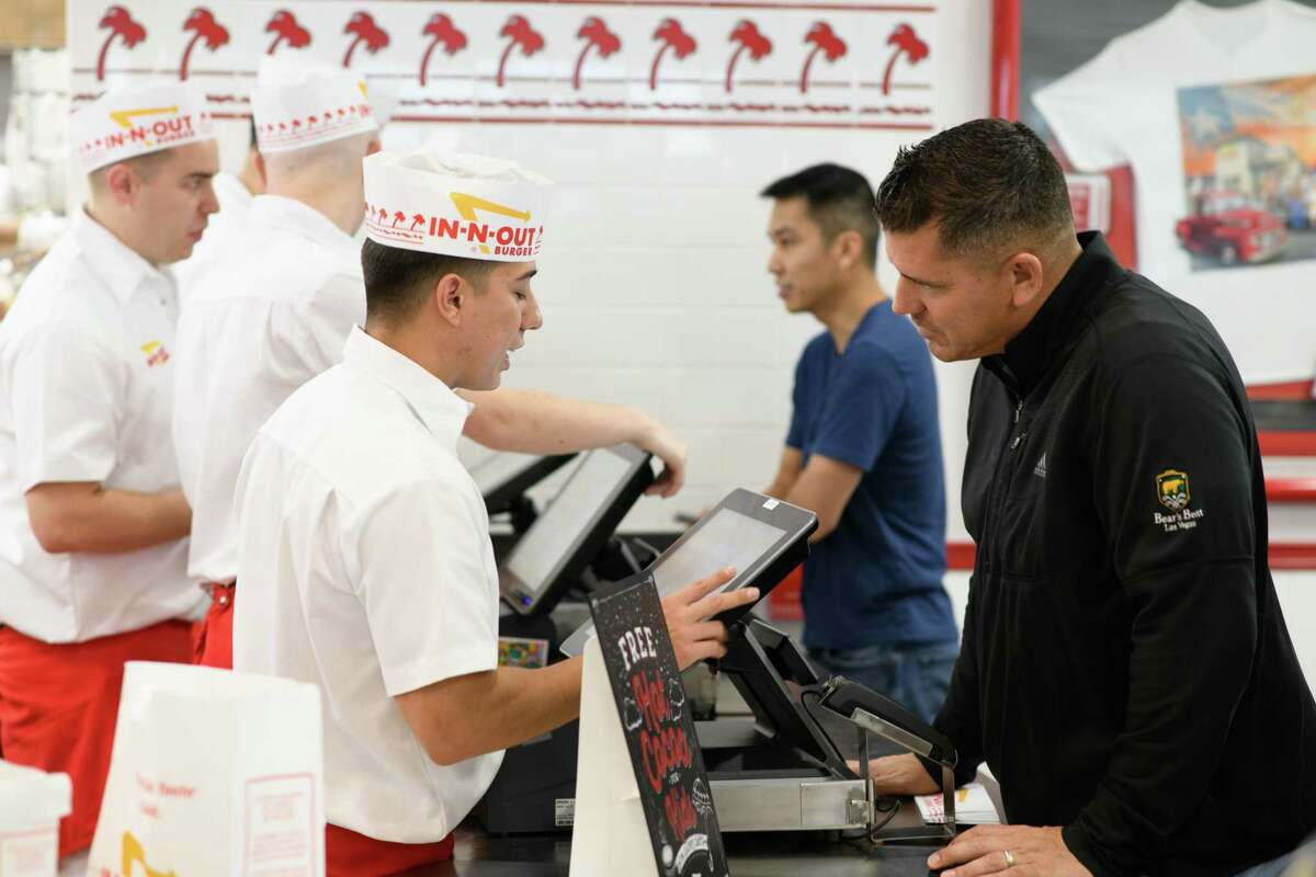 Burgers - Staff Friendliness   1. In-N-Out - 73% 2. Culvers - 70% 3. Five Guys Burgers and Fries - 67% 4. Smashburger - 58% 5. Whataburger - 55% Source: Market Force Information