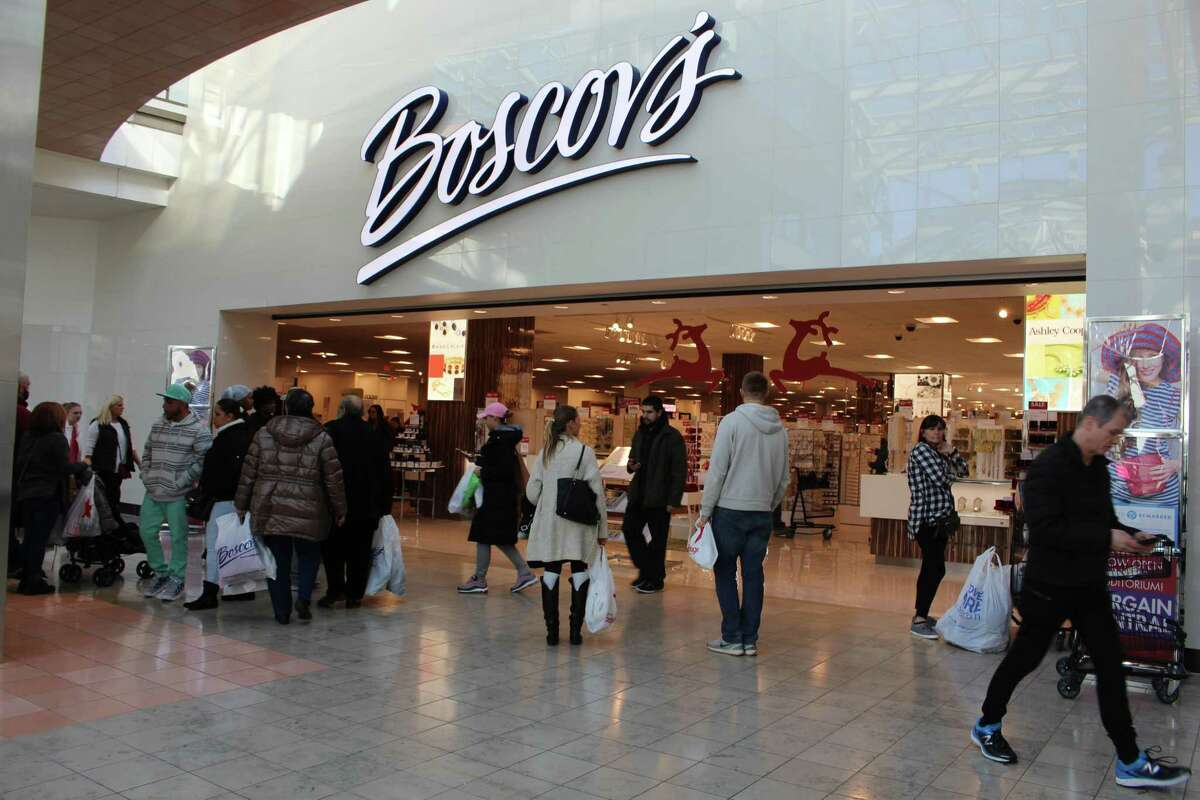 A Bridgeport man is accused of shoplifting from the Boscov's store at Milford Connecticut Post Mall on Dec. 7, 2019.