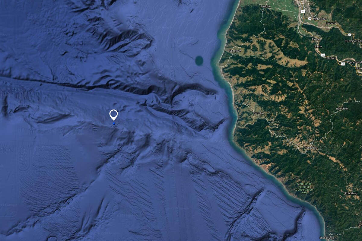 A 75-foot-tall wave was recorded just over 20 miles off the California coast last month.