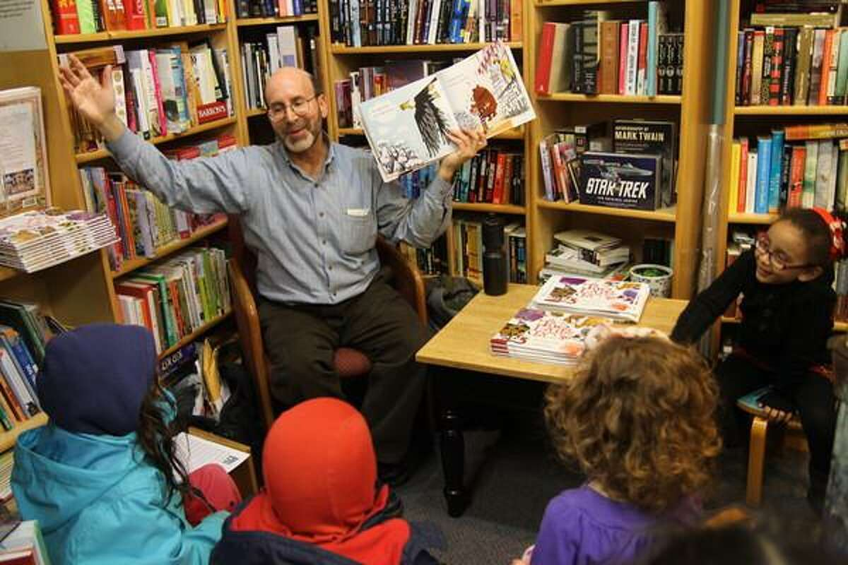 Artie Bennett,author of popular children's picture books, will read and showcase all seven of his books Dec. 15 at Barnes & Noble in Milford.