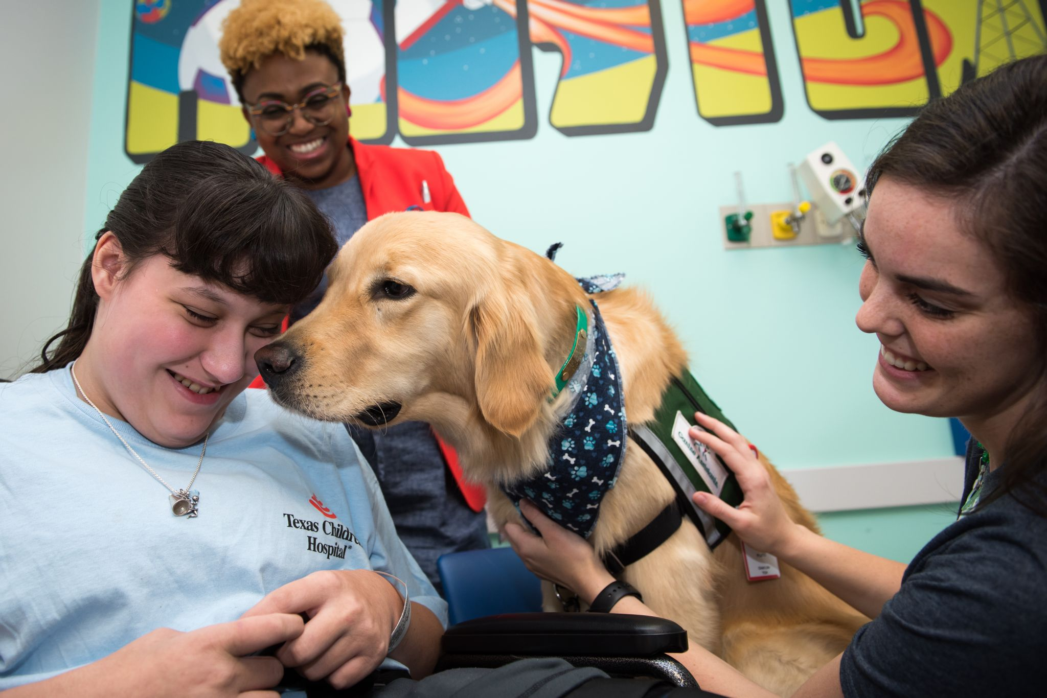 Texas Children's Hospital welcomes new therapy dog, Pluto