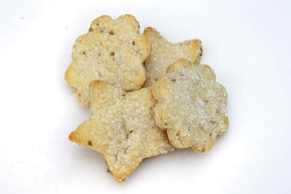 Anise Cookies from Charlotte Simer are sophisticated, shortbread-style cookies shot through with anise seed.