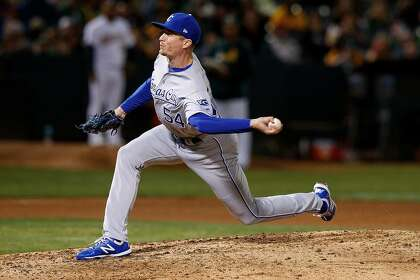 A's have interest in Royals reliever Tim Hill