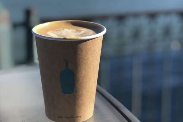 Disposable cups like this one will no longer be sold at Blue Bottle by the end of next year, the coffee roaster's CEO Bryan Meehan announced Monday.