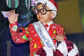 Laredoans begin the holiday spirit with the city's annual Christmas Parade.