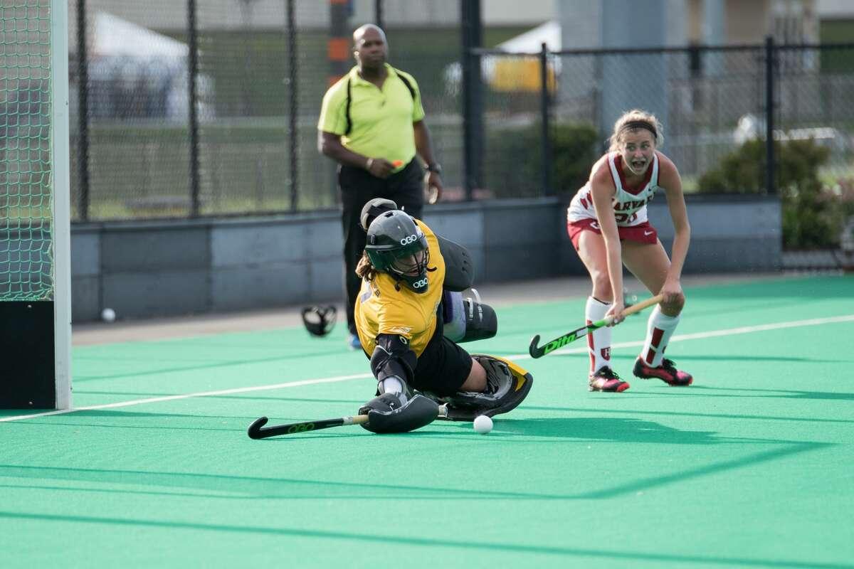 Shenendehowa graduate Melissa Nealon of the UAlbany field hockey team. (Courtesy of UAlbany Athletics)