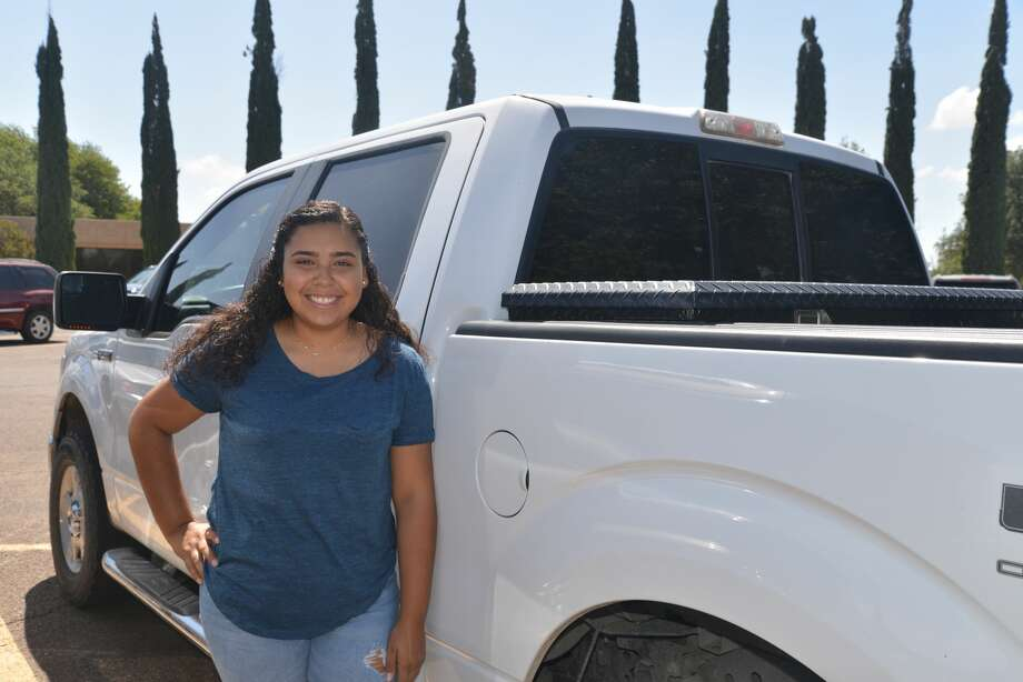 Biana DeLaRosa said it was how she was raised that led her to study automotive technology at Midland College. Photo: Courtesy Photo