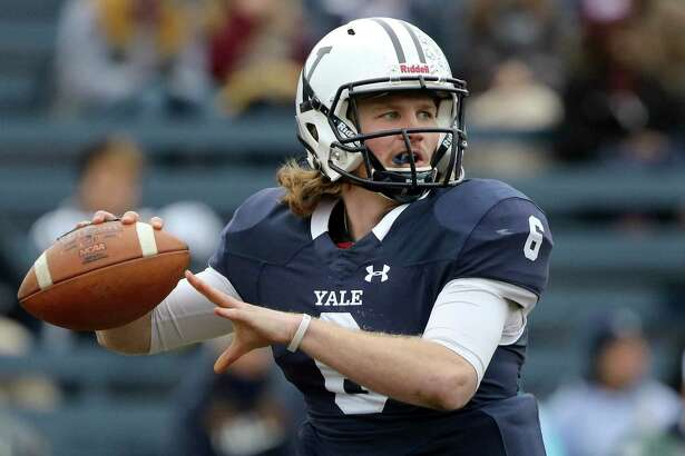 Yale quarterback Kurt Rawlings was named the Ivy League Offensive Player of the Year on Monday.