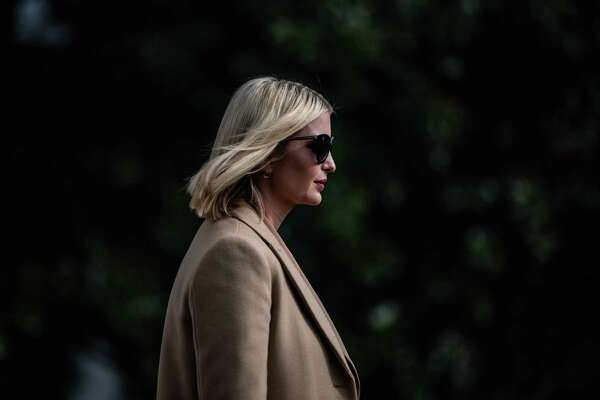 Ivanka Trump walks to board Marine One at the White House on Nov. 20.