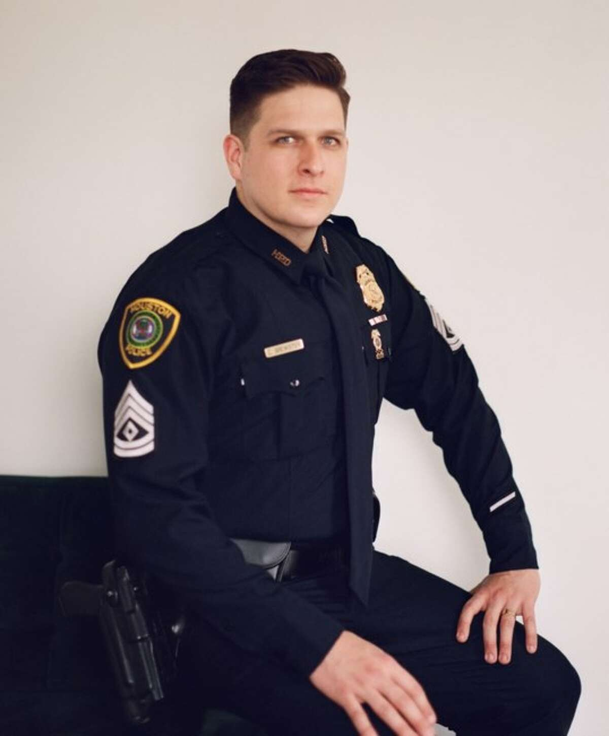 Sgt. Christopher Brewster, Houston Police Department.